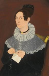 NGA- Sarah Cook Arnold knitting