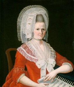NGA- Lady Wearing a Large White Cap