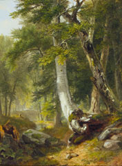 BRM-Landscape, Wood Scene