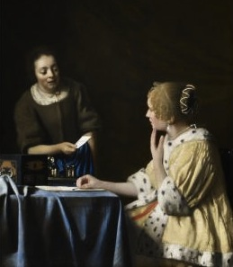Vermeer: Mistress and Maid, The Frick