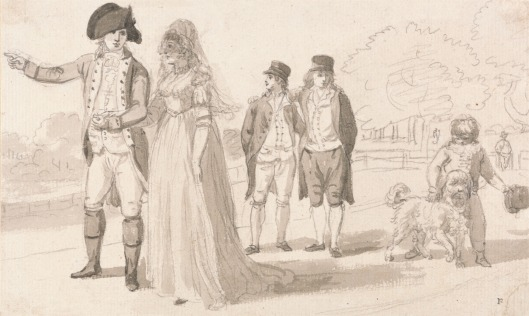 Sandby: Family in Hyde Park, YCBA