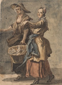 Sandby: Two Women and a Basket, YCBA