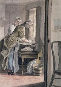 Sandby, Washing at Sandpit Gate, 1765. Royal Collection.