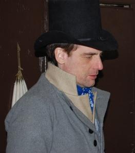 New hat, new waistcoat