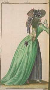Magasin des Modes, June 1787, thanks to Dames a la Mode