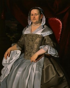 Mrs. James Otis (Mary Allyne Otis). JS Copley, ca. 1760. Wichita Art Museum
