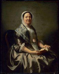 Mrs Nathaniel Ellery, J S Copley, 1765, MFA Boston