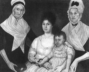 The Ege-Galt Family, 76.100.1, Abby Aldrich Rockefeller Folk Art Center