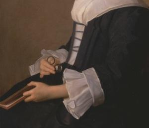 Detail, Mary Adams, 1754,B1981.25.513, YCBA