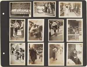 Album page, New York City. Bernice Abbott, 1929-30. MMA 1982.1180.106–.116