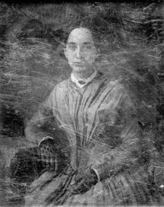 Mrs. Thomas Easterly. Daguerreotype by Thomas M. Easterly. Missouri Historical Society, PHO:17434
