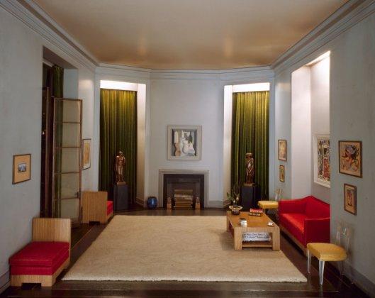 Mrs. James Ward Thorne American, 1882-1966 A37: California Hallway, c. 1940, c. 1940. Art Institute of Chicago.