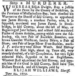 browncamblet Waistcoat 7-4-1772 providence