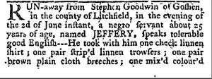 June 21, 1774 Connecticut Courant
