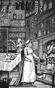 18th-century-kitchen-servants-prepare-a-meal-jane-austen-cookbook-cover-page