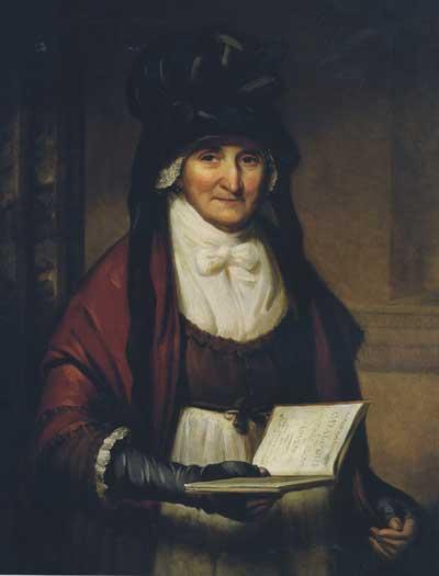 Mrs Garnett, Housekeeper, oil on canvas by Thomas Barber. NTPL Ref. No. 42286