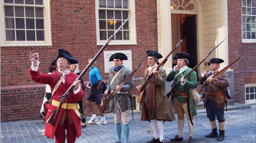 Demonstration at the Old State House