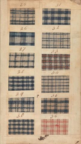Textile Sample Book, 1771. British Rogers Fund, 156.4 T31, MMA
