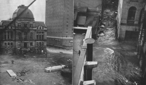 Providence during the Great New England Hurricane of 1938