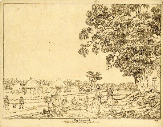 Paul Sandy, The Laundress, 1780. British Museum, 1904,0819.624