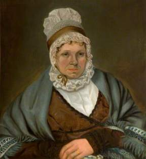 Dolly Eyland, by Alexander Keith, 1808. (c) The New Art Gallery Walsall; Supplied by The Public Catalogue Foundation