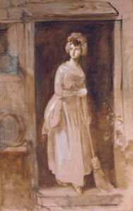 Thomas Gainsborough, The Housemaid. 1782-86. Tate Museum, Presented by Rosalind, Countess of Carlisle 1913, N02928