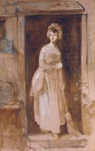Thomas Gainsborough, The Housemaid. 1782-86. Tate Museum, Presented by Rosalind, Countess of Carlisle 1913, N02928