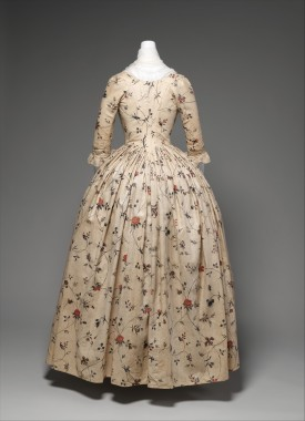 Robe a l'anglaise, 1785-1795 MMA 2009.300.647