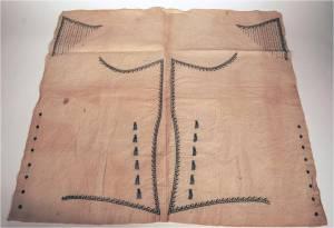 Unmade waistcoat ca. 1790. RIHS 1990.36.15