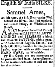 Samuel Ames, May 19, 1796