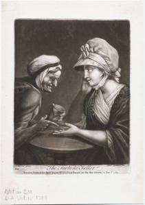 The Fortune Teller, 1789. Lewis Walpole Librray. 789.1.2.1