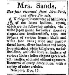 Newport Mercury, December 11, 1811. L:2593, p.1