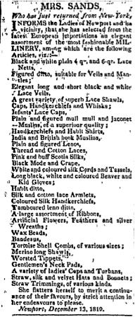 The Rhode-Island American, December 25, 1810. III:20, p. 1