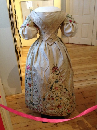 Colonial Wedding dress altered 1830