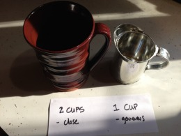 Tablespoons and Cups
