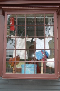 Shop window at the West India Goods Store