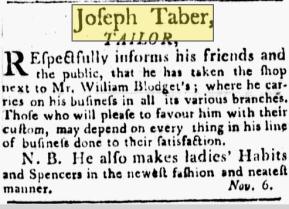 Providence Journal, 11-13-1799