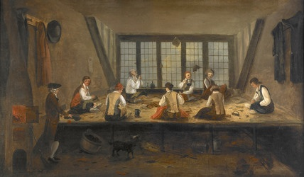 Interior of a Tailor's Shop, Museum of London