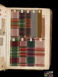 Swatch book, 1763-1764. Victoria and Albert Museum, T.373-1972