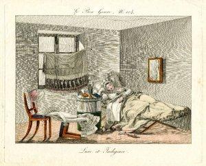 Luxe et Indigence. Le Bon Genre, 1817