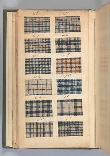 Textile Sample Book, 1771. Metropolitan Museum of Art. 156.4 T31