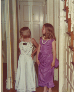 Yes, I have always like to dress up, and to get my friends to join me.