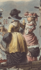 detail,  Winter Amusement, 1787