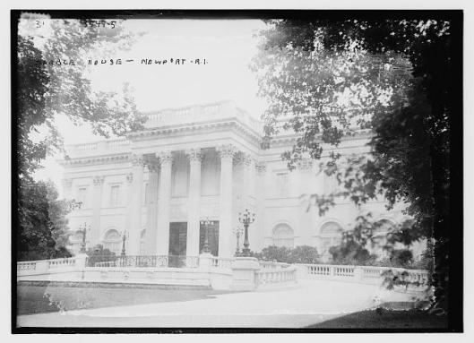 Marble House, Newport, R.I. Bain News Service, Glass plate negative, 1910-1915. Library of Congress. LC-B2- 3547-5 [P&P]