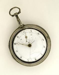 Silver Pocket Watch of Meriwether Lewis, 1936.30.5