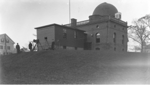Ladd Observatory, 1898, back of the transit room.