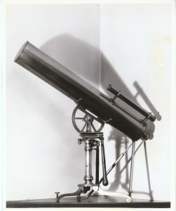The telescope used by Benjamin West to observe the Transit of Venus, 1769