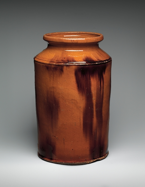 Jar,. Earthenware, 1800-1900. 18.95.11