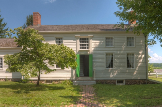 Foster-Tufts House, photo from Genesee country Village & Museum