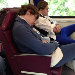 If they sleep on the way home, it wasn't a bad day.